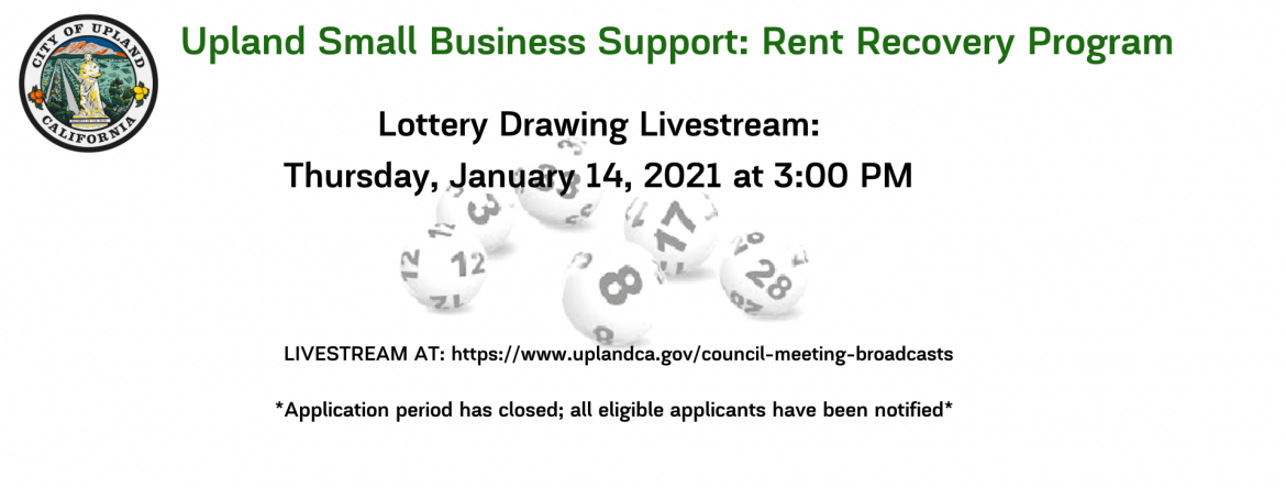 Slide: Upland Small Business Support_ Rent Recovery Program.png