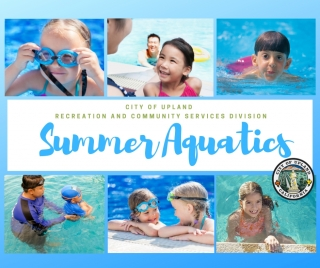 Stay Cool & Make A Splash With Upland Recreation and Community Services!