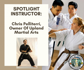 Chris Pellitteri, Owner Of Upland Martial Arts