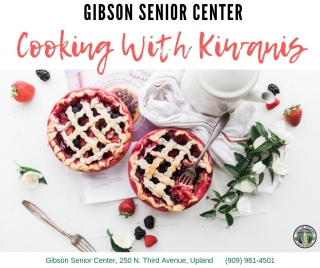 Cooking With Kiwanis & Bingo Afternoons