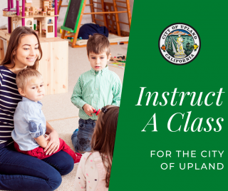 Instruct A Class With The City Of Upland