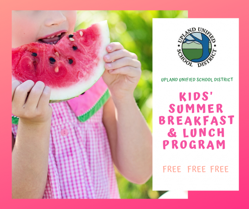 Kids' Summer Breakfast  & Lunch Program