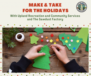 Take & Make Holiday Craft Kits With The Sawdust Factory