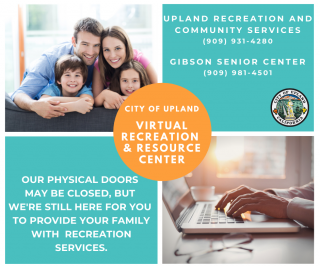 City of Upland Virtual Recreation & Resource Center