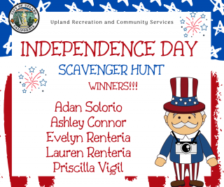 Independence Day Scavenger Hunt