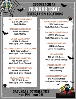 Spook-tacular Trunk Or Treat Celebration