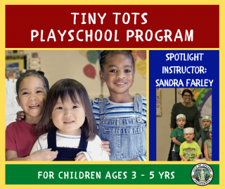 Sandra Farley, Tiny Tots Instructor