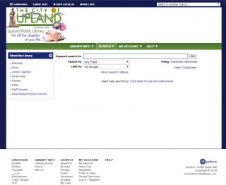 Online Public Library Catalog (OPAC)